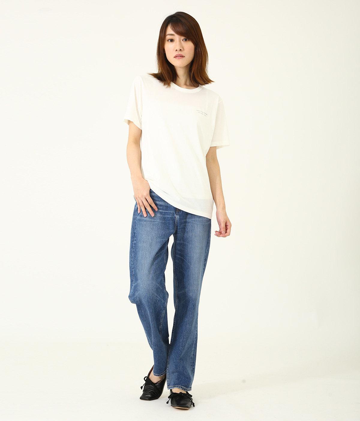 【レディース】cotton jersey bp logo T-shirt