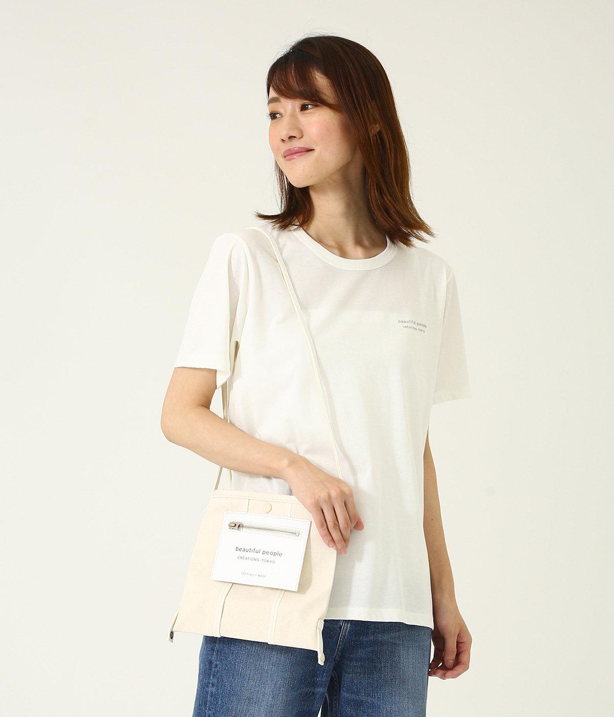 lining logo pocket mini shoulder bag