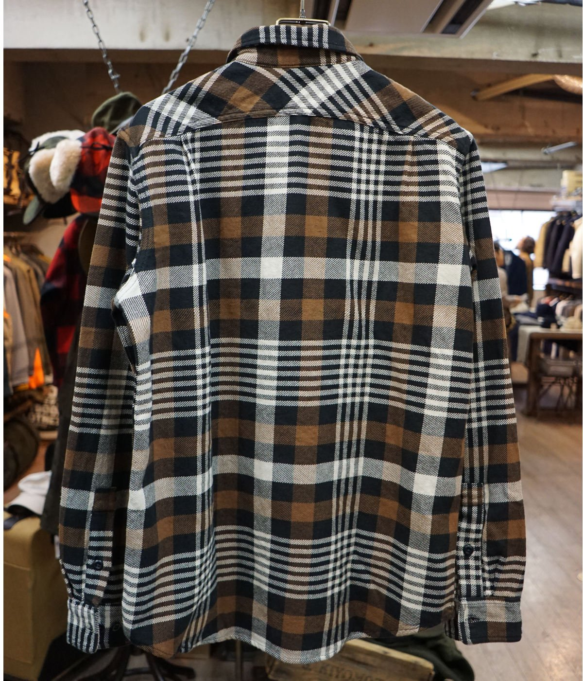 【予約】VINTAGE FLANNEL WORK SHIRT