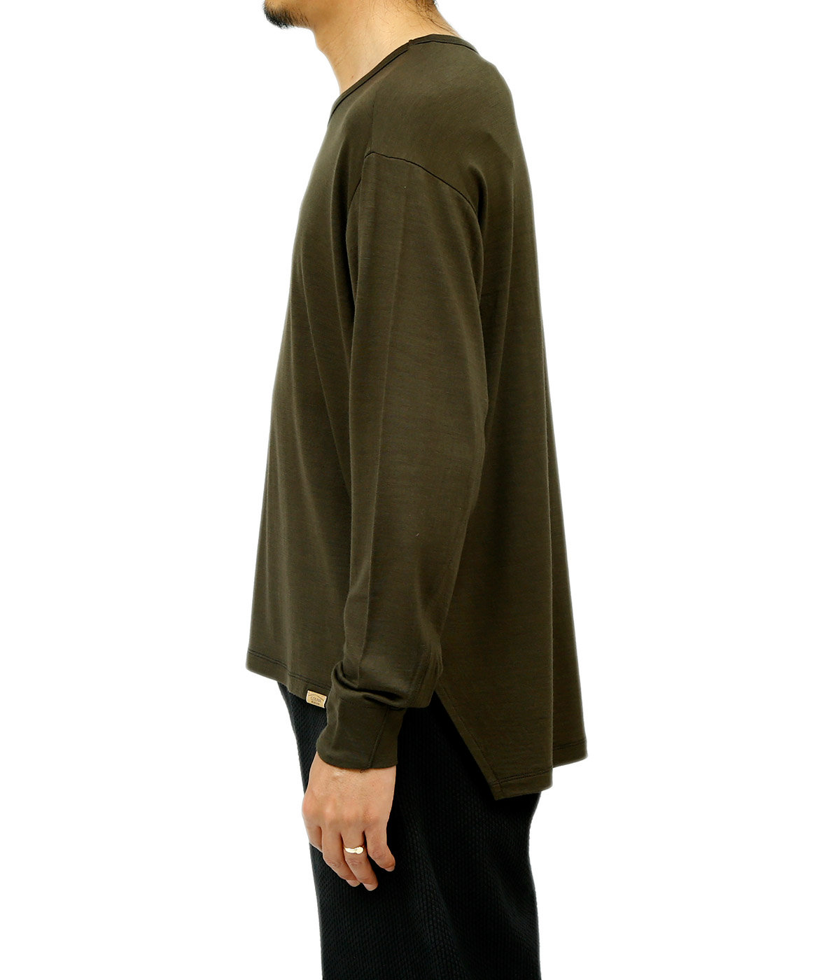 Super 120s Washable Wool Long Tee