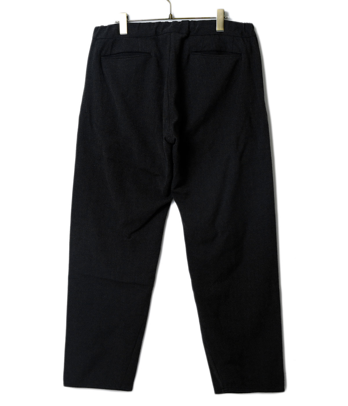 【予約】Washble Wool RATINE CURVE SLACKS