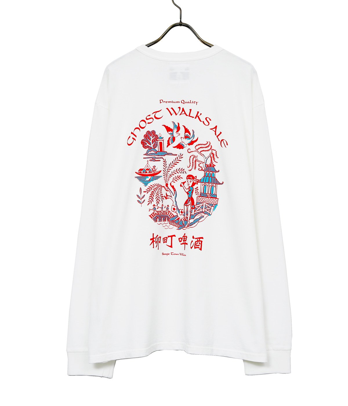 GHOST WALKS ALE LS shirt