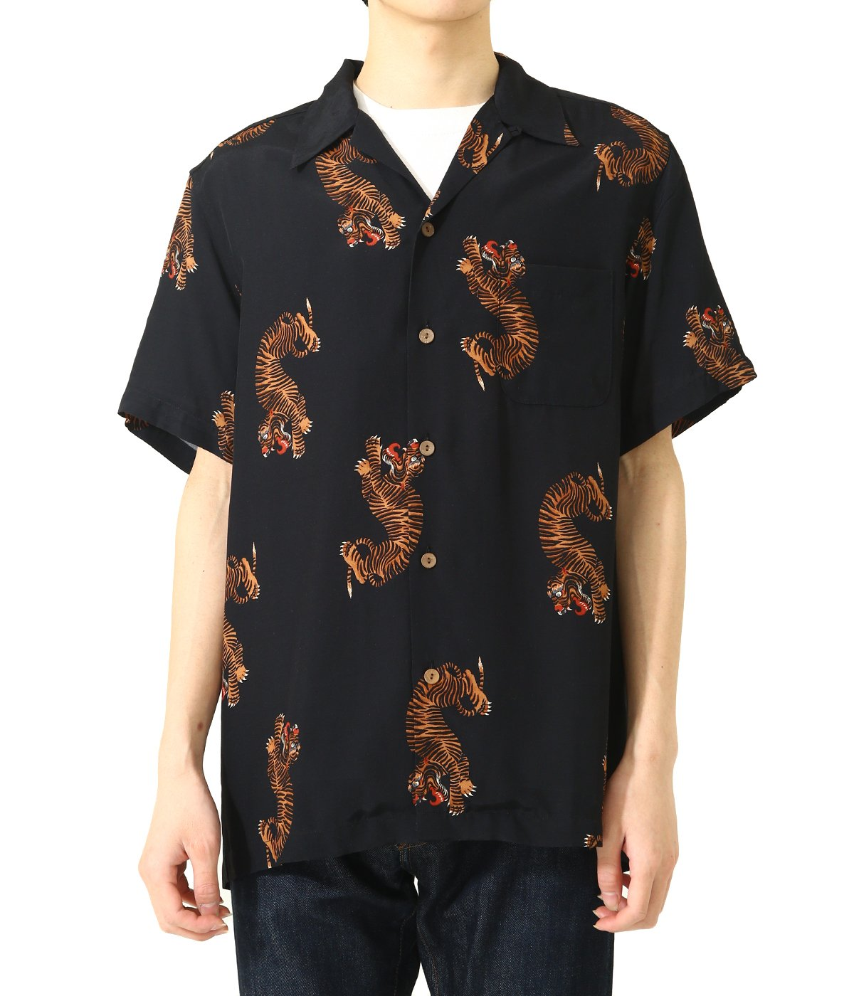 HAWAIIAN SHIRT S/S ( TYPE-2 )
