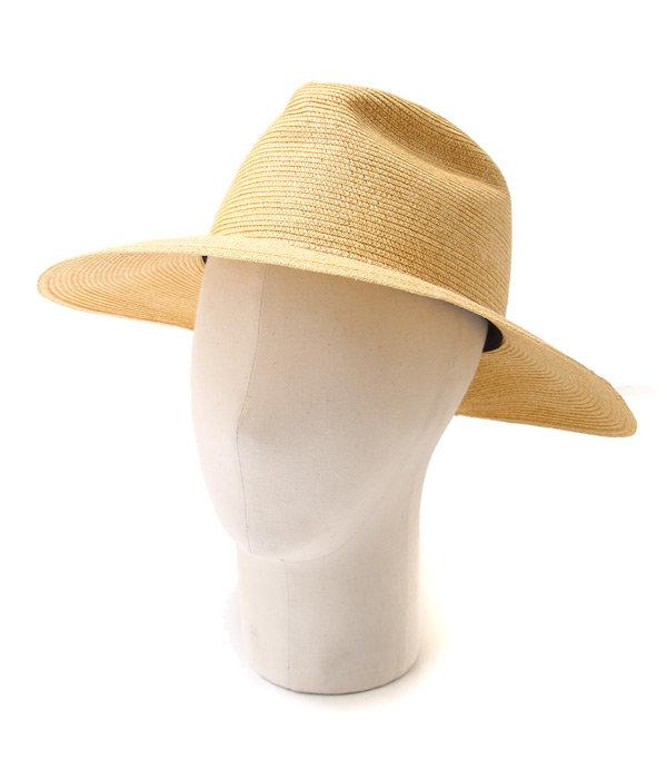 9cmPAPER BRAID TRAVELLER HAT (PLAIN)