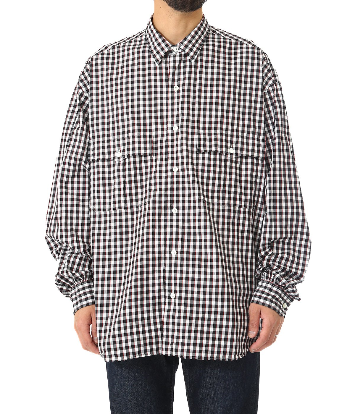ROLL UP TRICOLOR G/C SHIRT