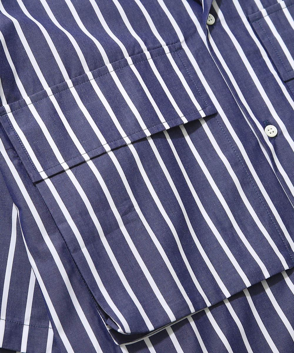 Open collar shirts