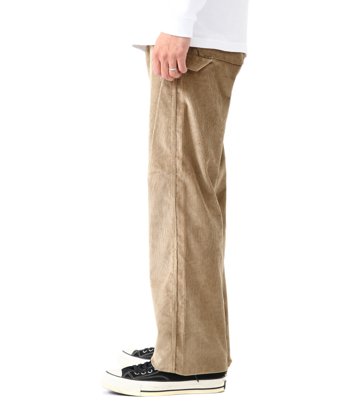 THICK CORDUROY PAINTER PANTS