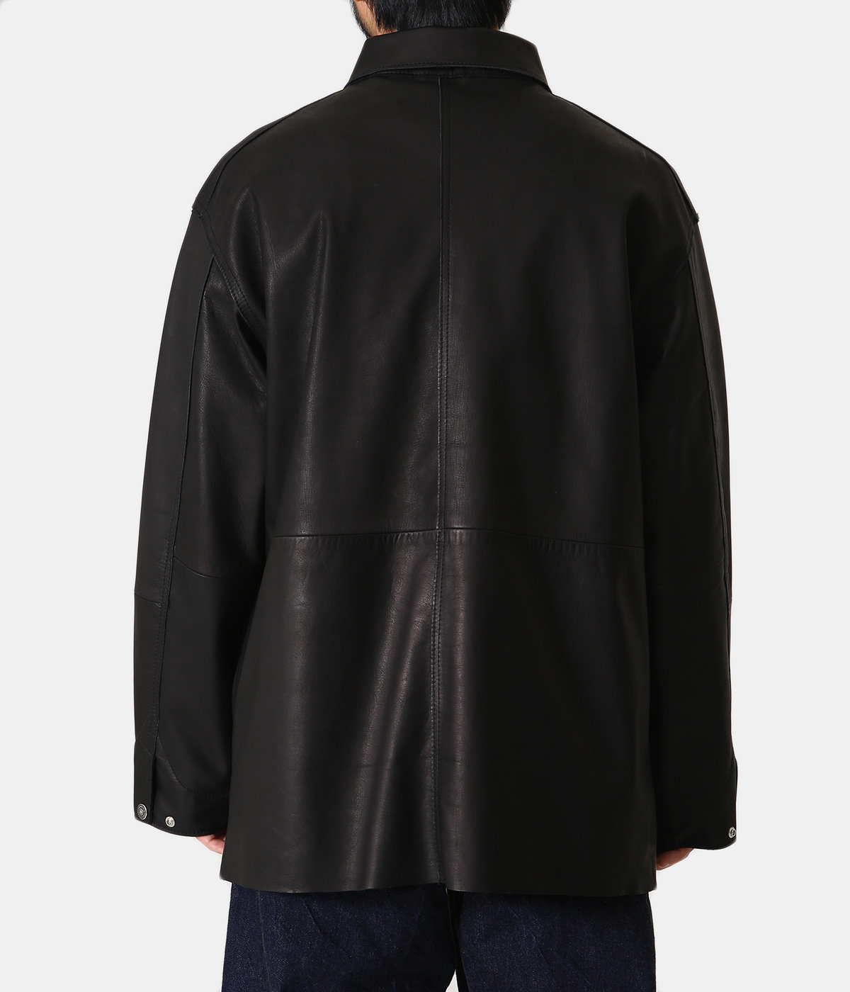 LEATHER UTILITY COVERALL