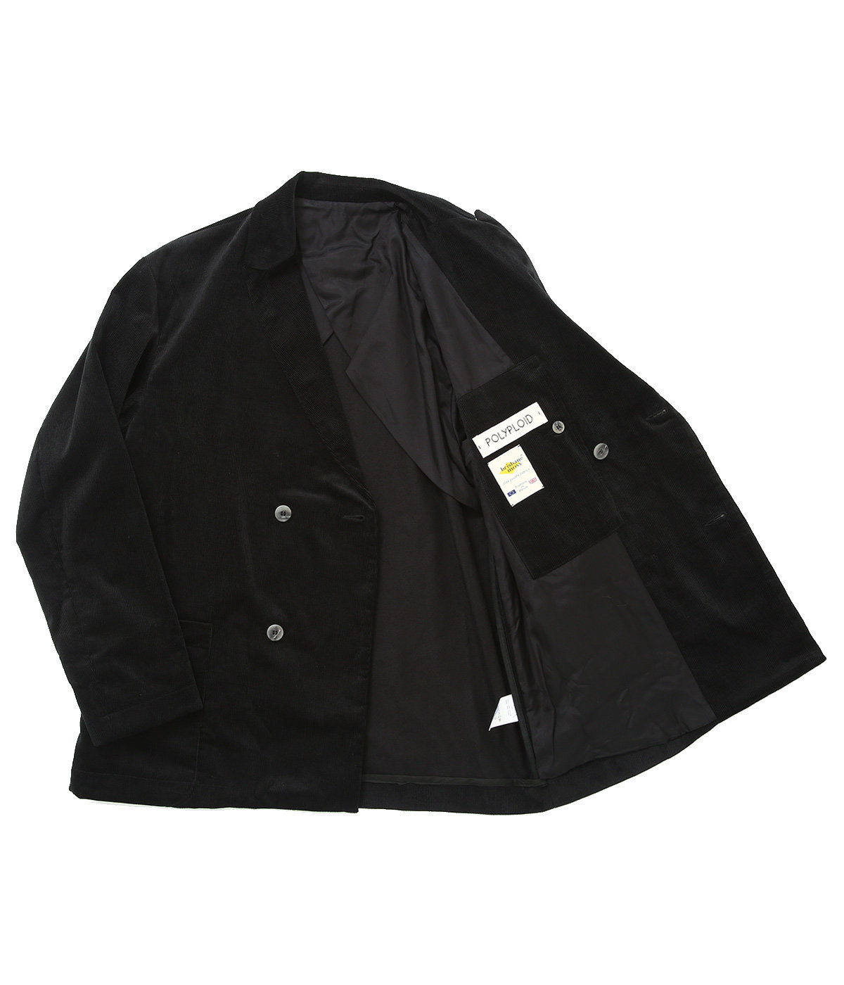 DOUBLE BREASTED SUIT JACKET C