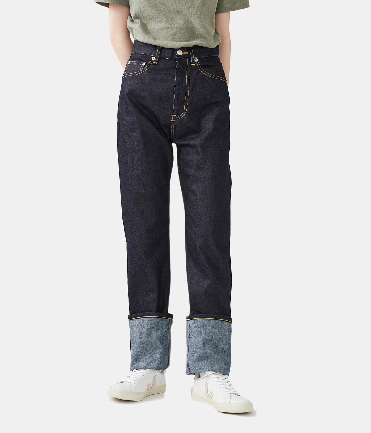 【レディース】selvage denim 5pocket woman fits