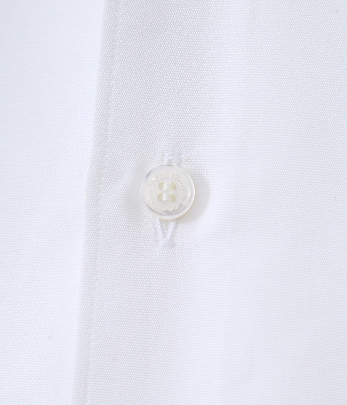 【レディース】grosgrain cotton regularcollar shirt