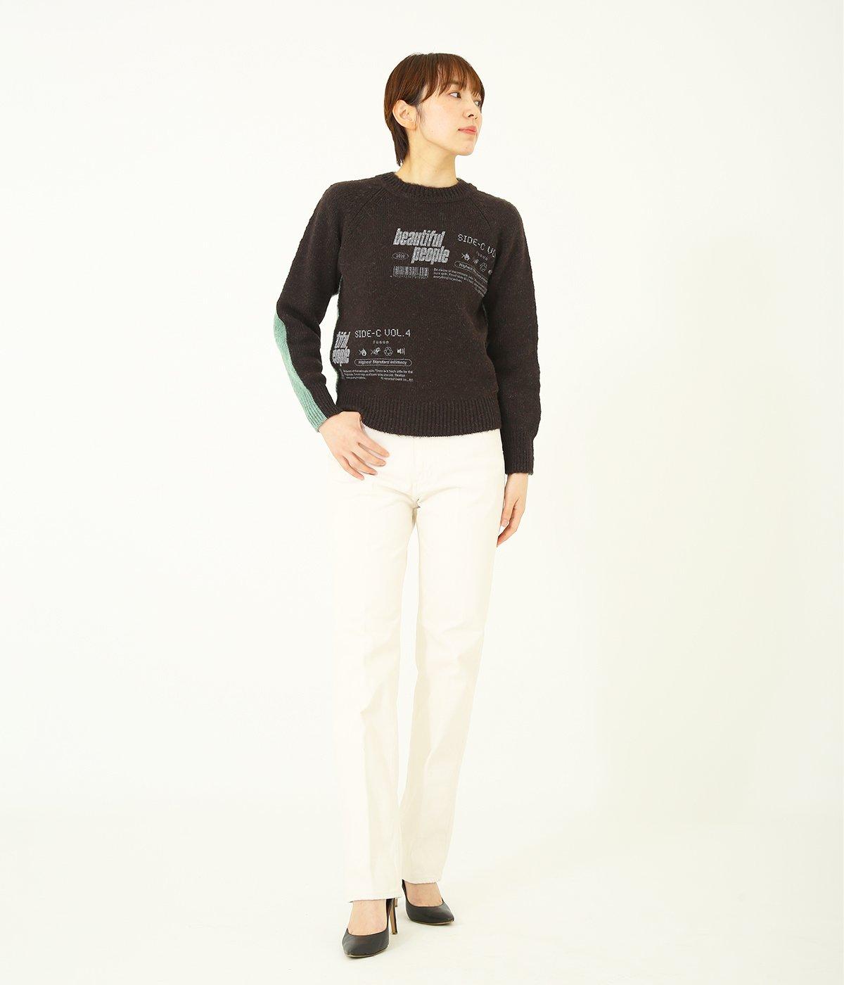 【レディース】brushed pullover