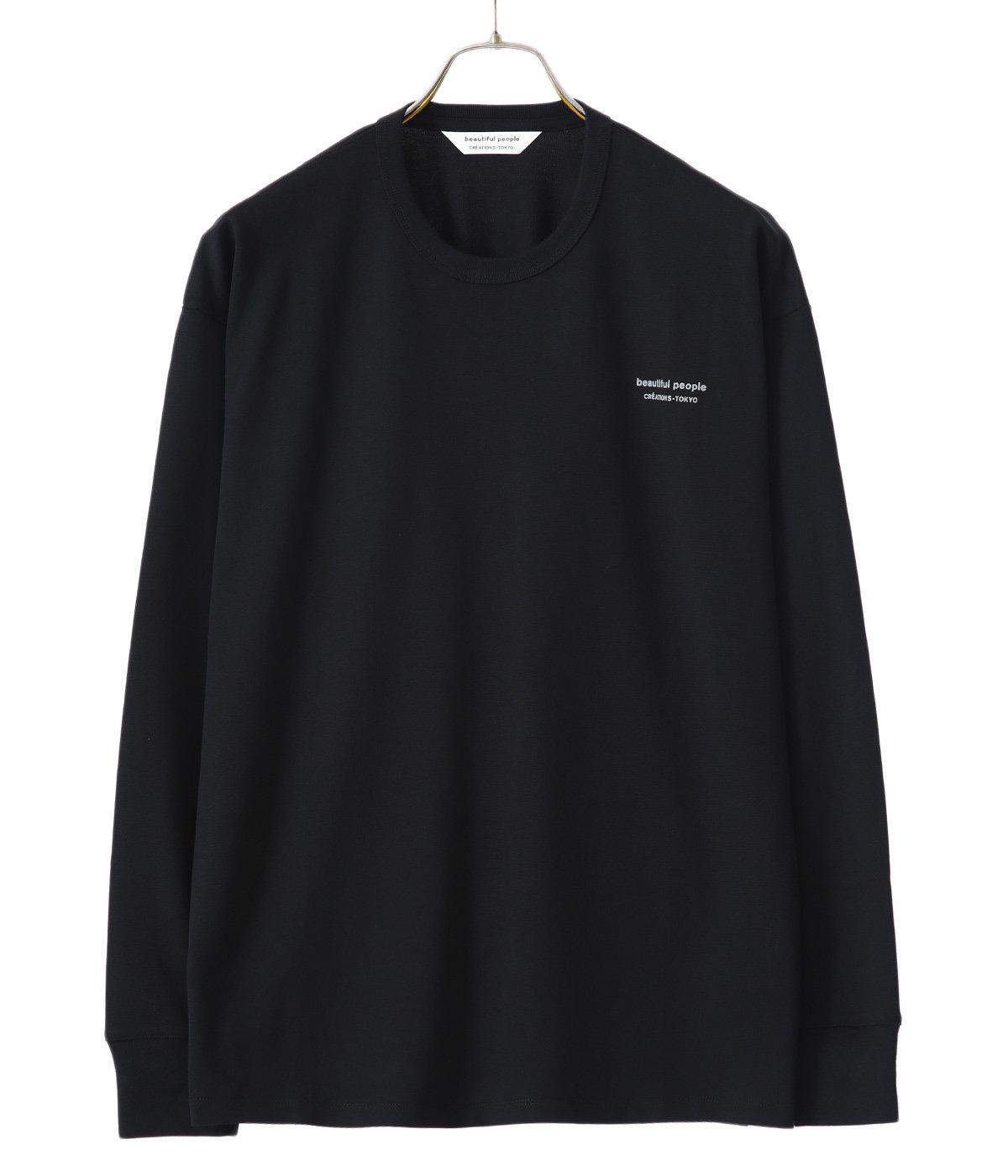 【レディース】suvin pima jersey bp logo long-T