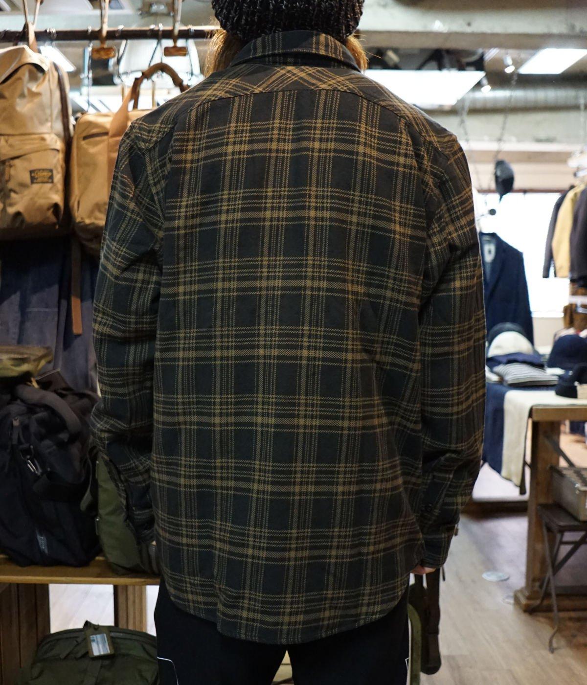 【予約】VINTAGE FLANNEL WORK SHIRT