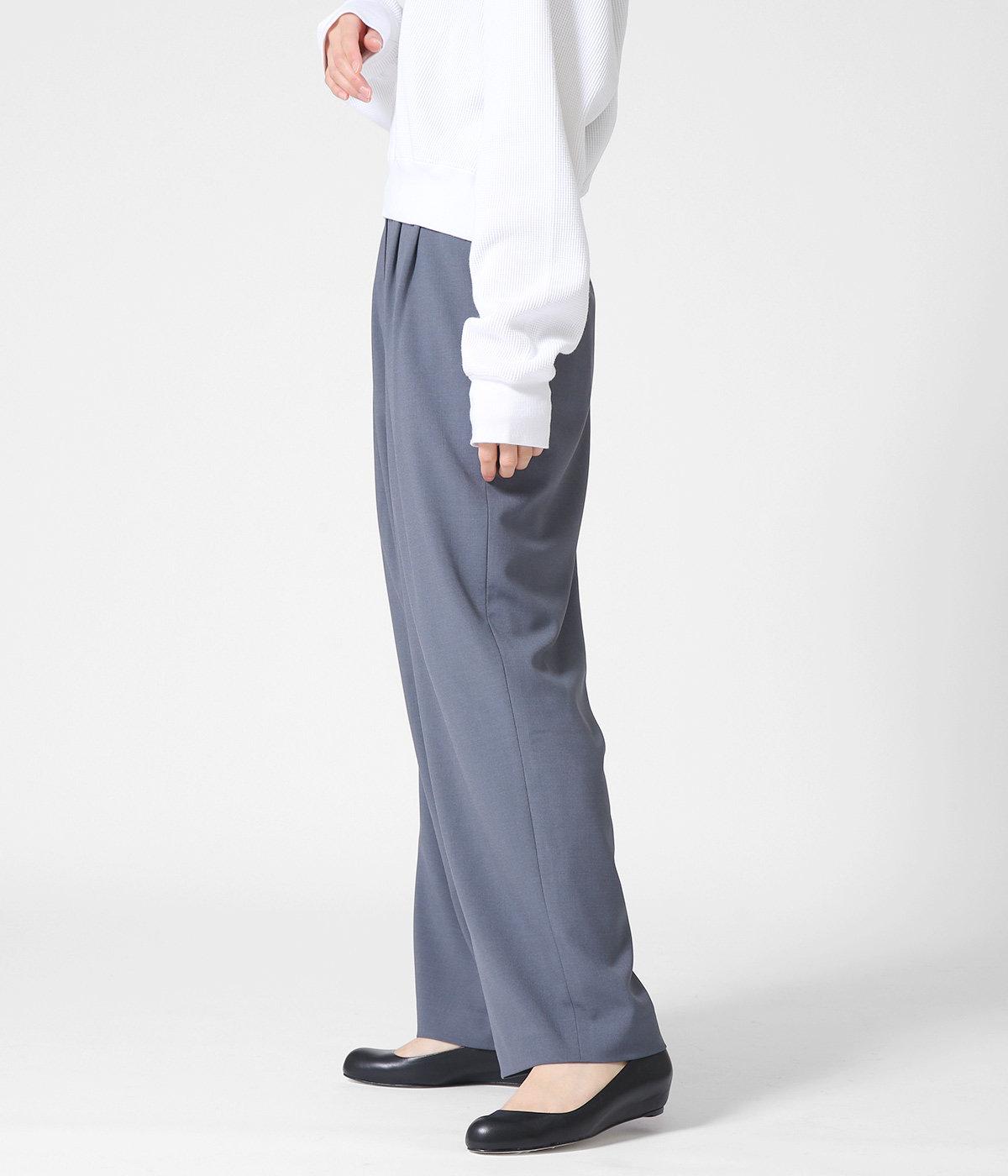 【レディース】BASIC TUCK PANTS
