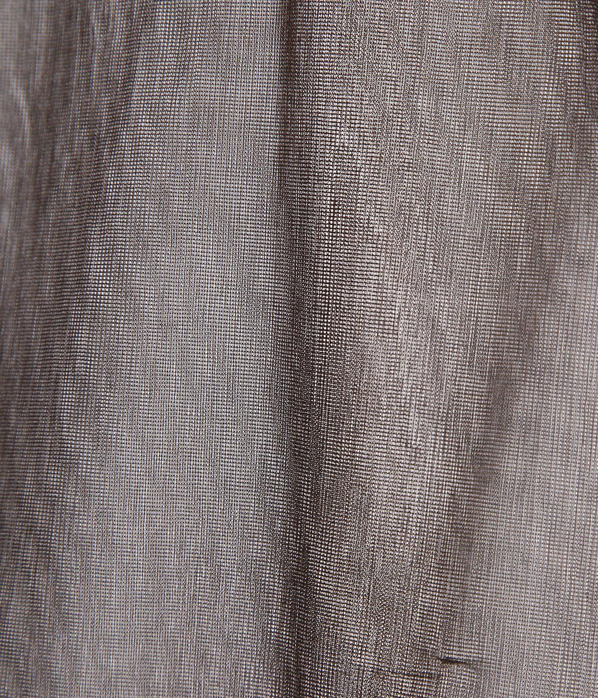 【レディース】sheer nylon rib long T-shirt