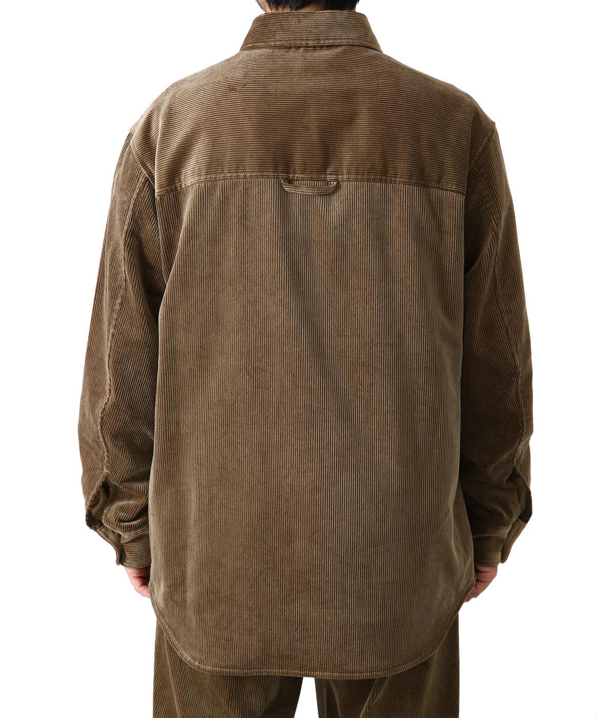 Cotton Corduroy Over Shirt