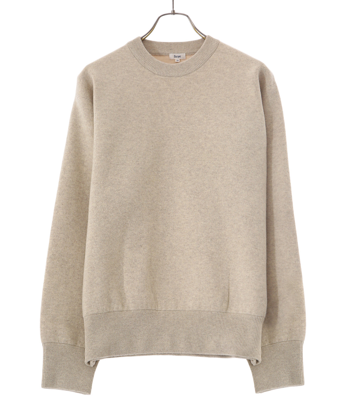 Double -Faced Knit Sweat Shirt