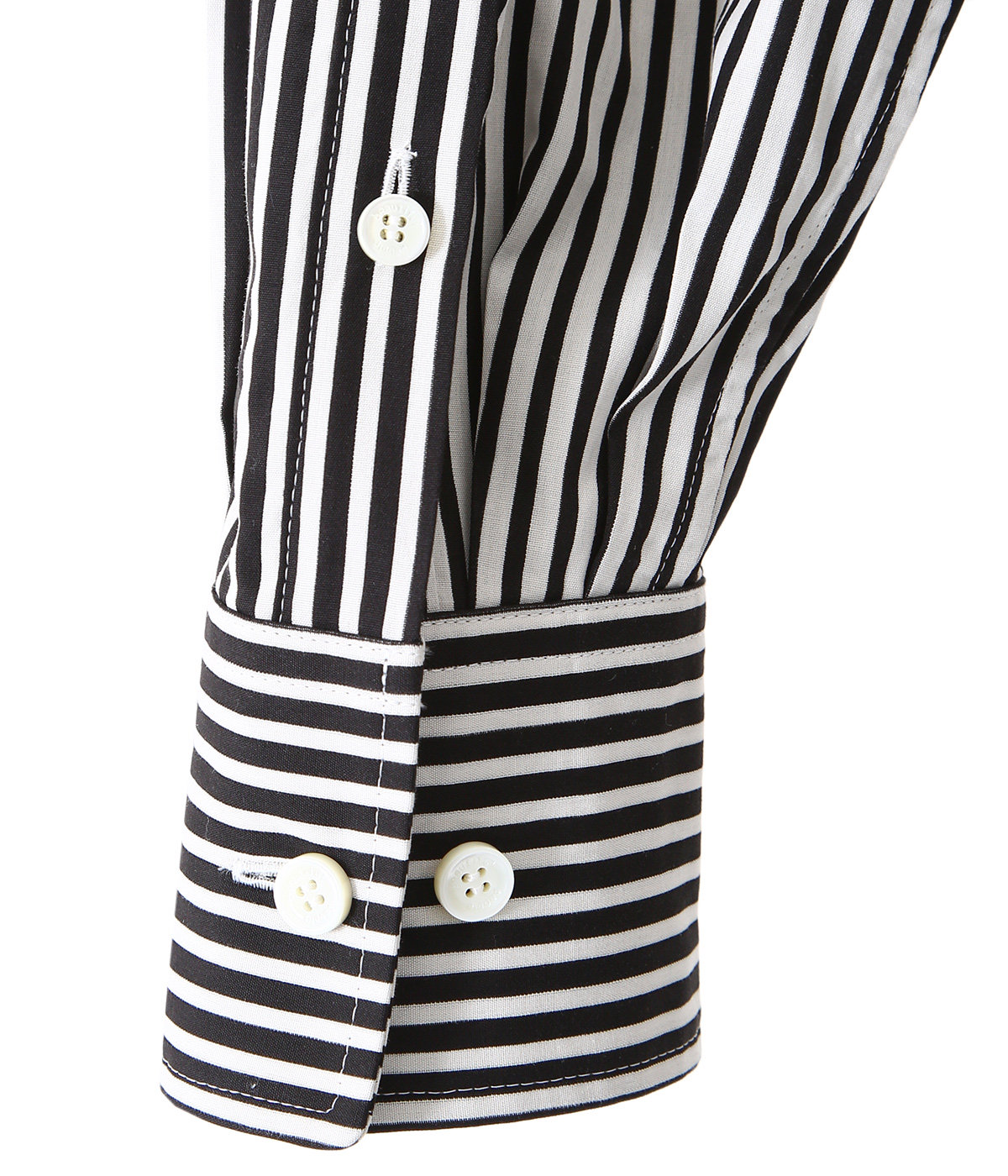 【レディース】stripe river fishtail shirt dress
