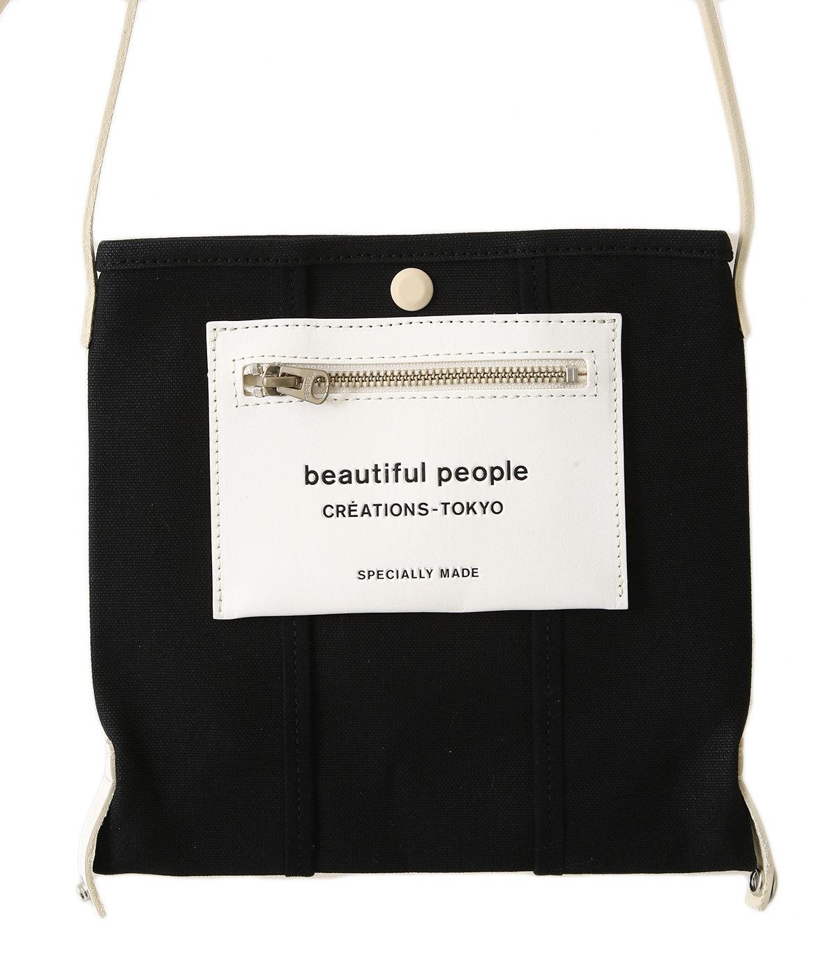 【レディース】lining logo pocket mini shoulder bag