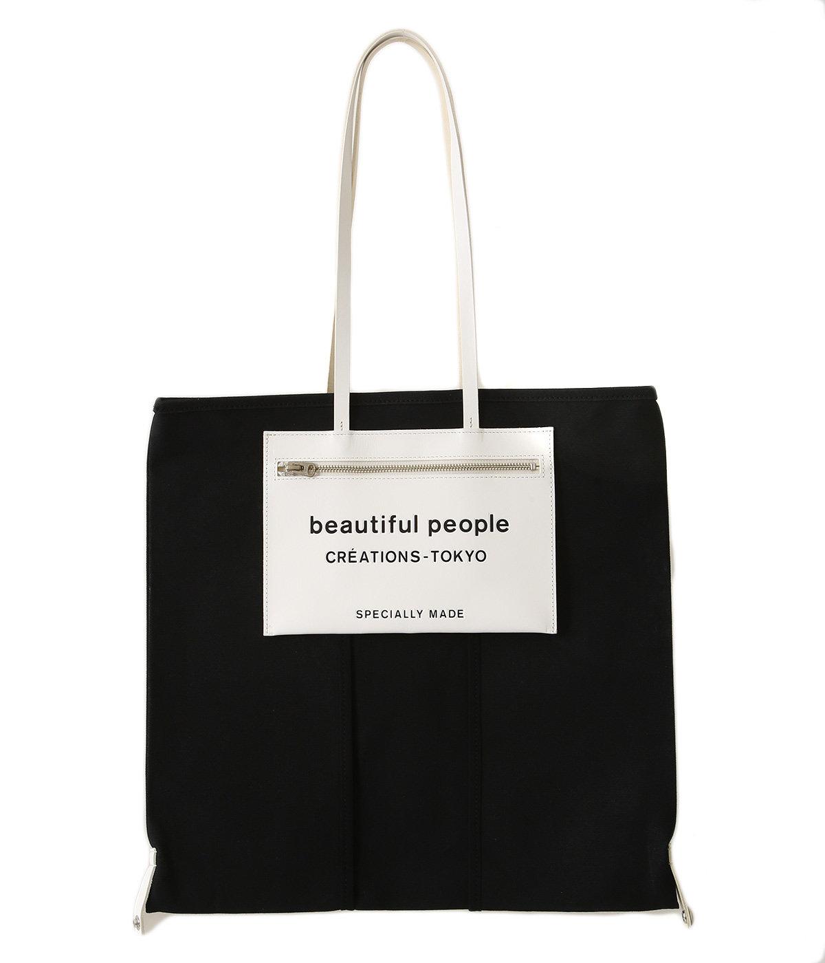【予約】lining logo pocket tote bag