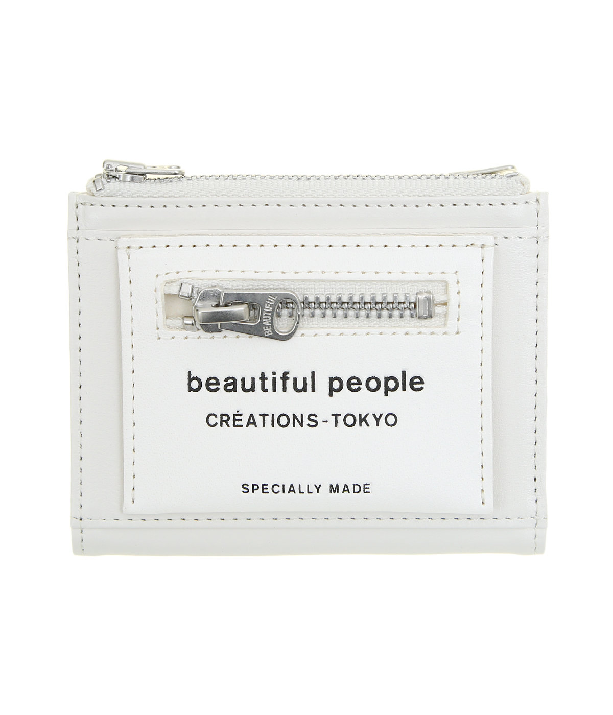【予約】【レディース】lining logo pocket compact wallet