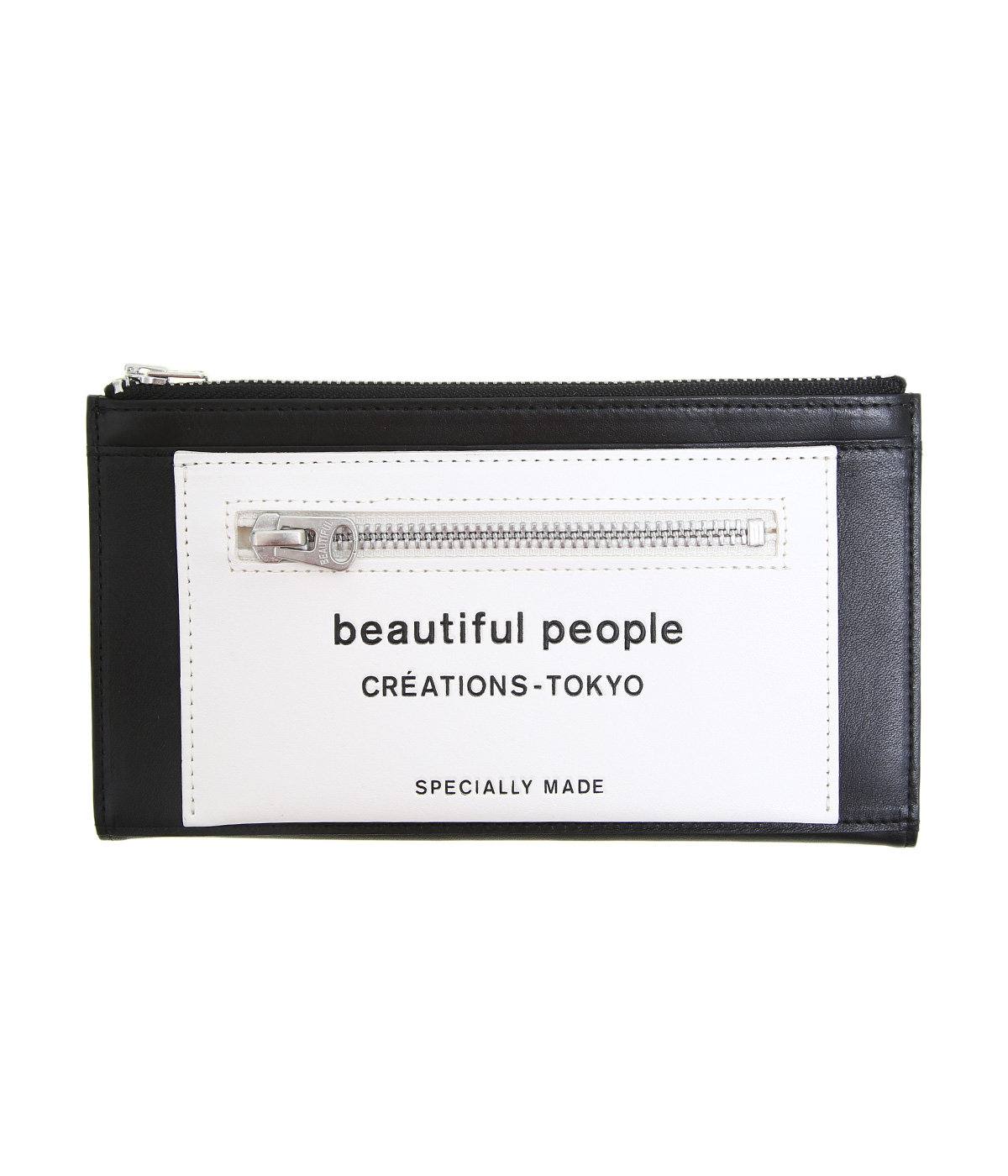 【レディース】lining logo pocket long wallet