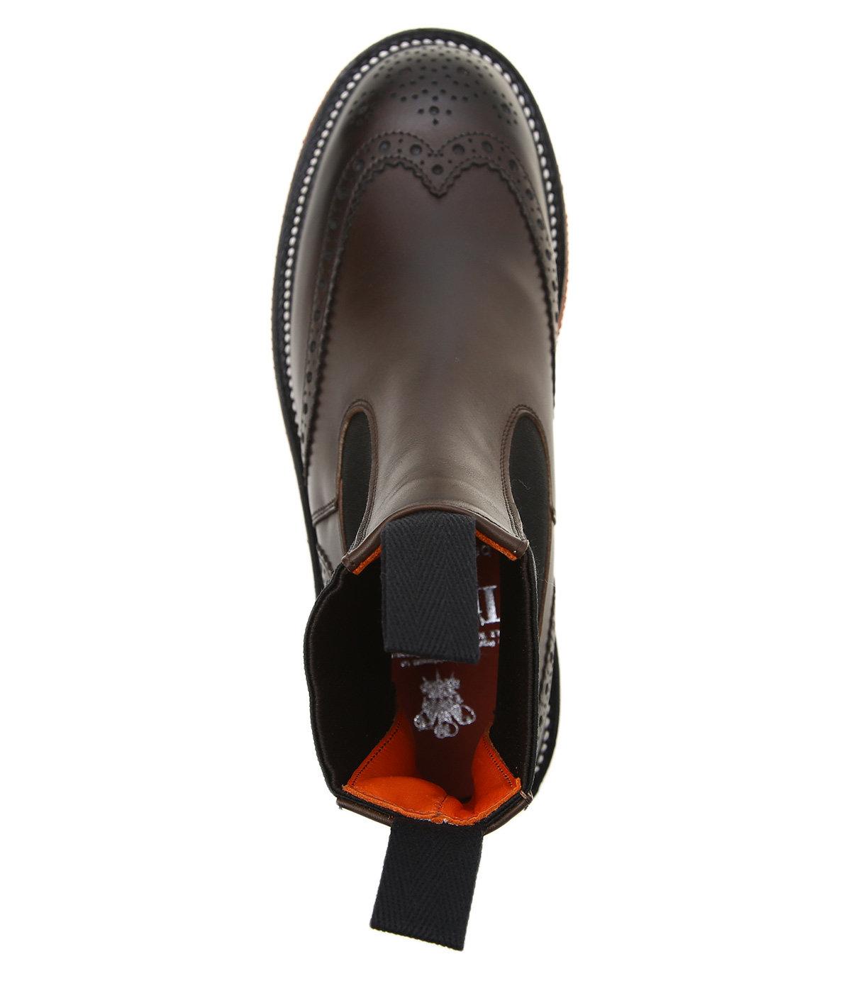 【レディース】Trickers color sole side gore boots W