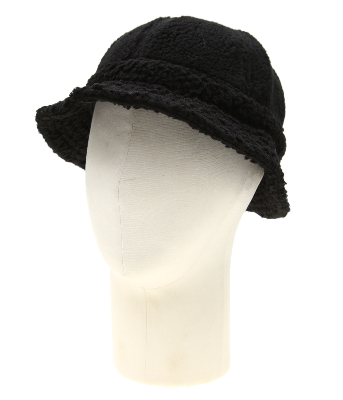 Sherpa Fleece Bell Bucket Hat