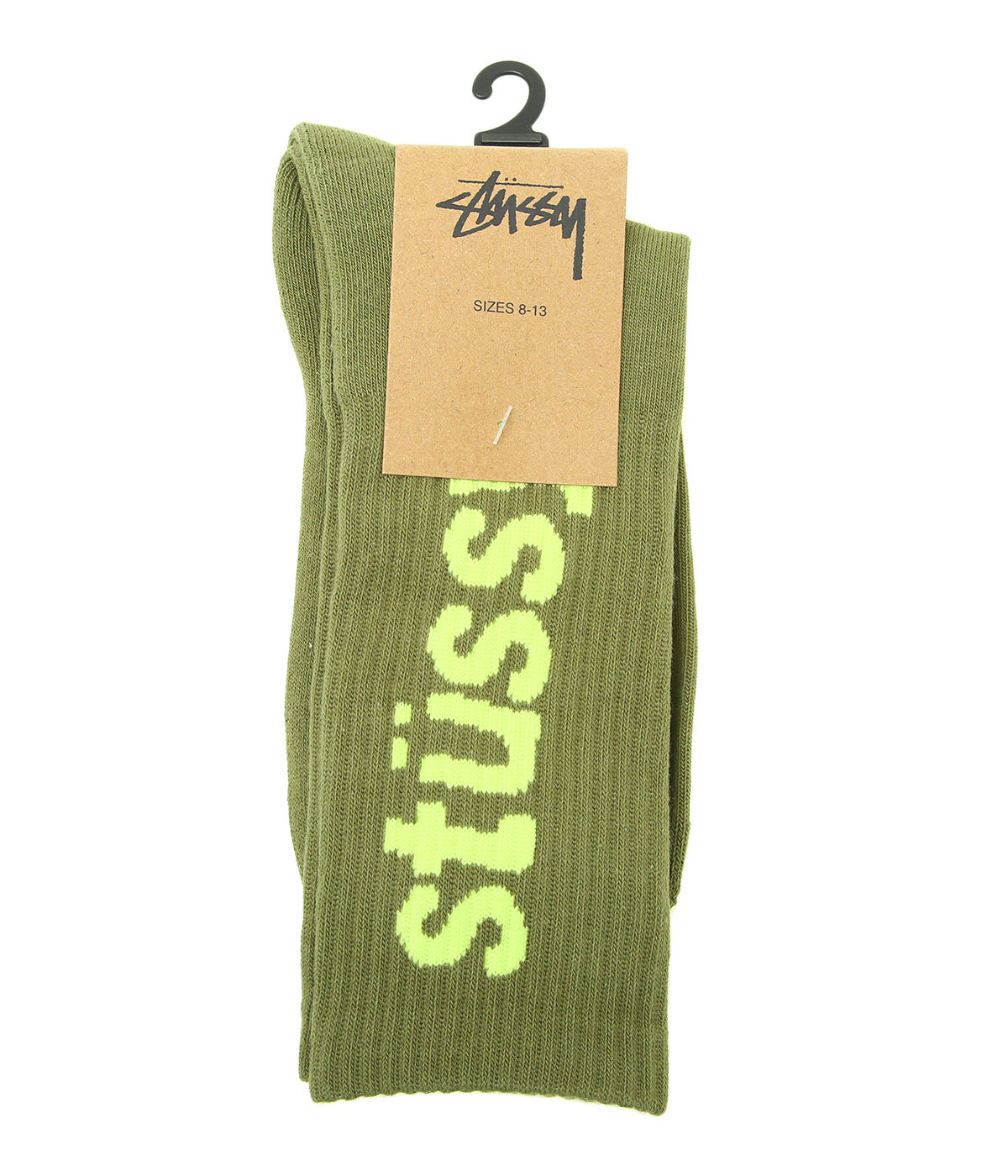 Helvetica Jacquard Crew Socks