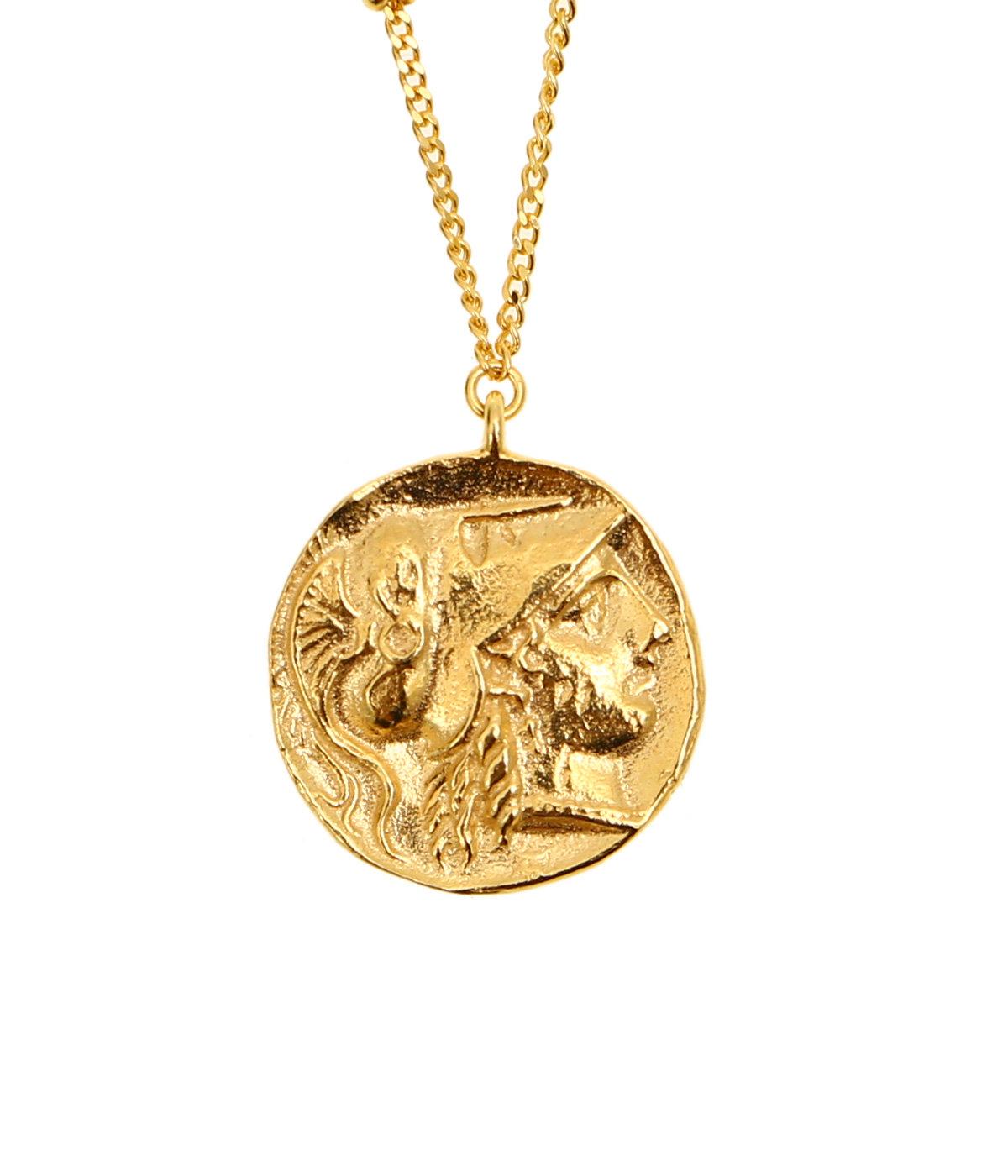 【レディース】Ancient Memories Athena/Angel スタッドチェーン62cm