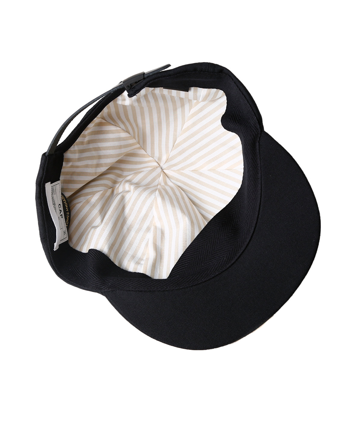 SUIT FABRIC SHORT BRIM CAP