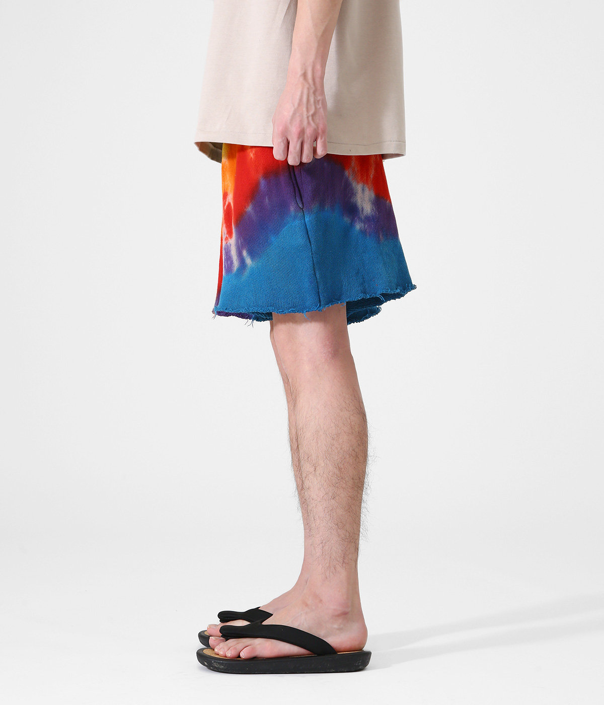 【予約】RAINBOW VOID SWEAT SHORTS