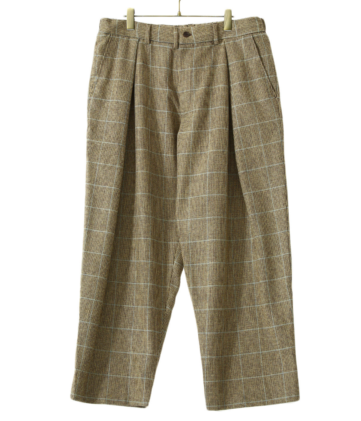 TUCK TROUSERS  is-ness×Burel Factory