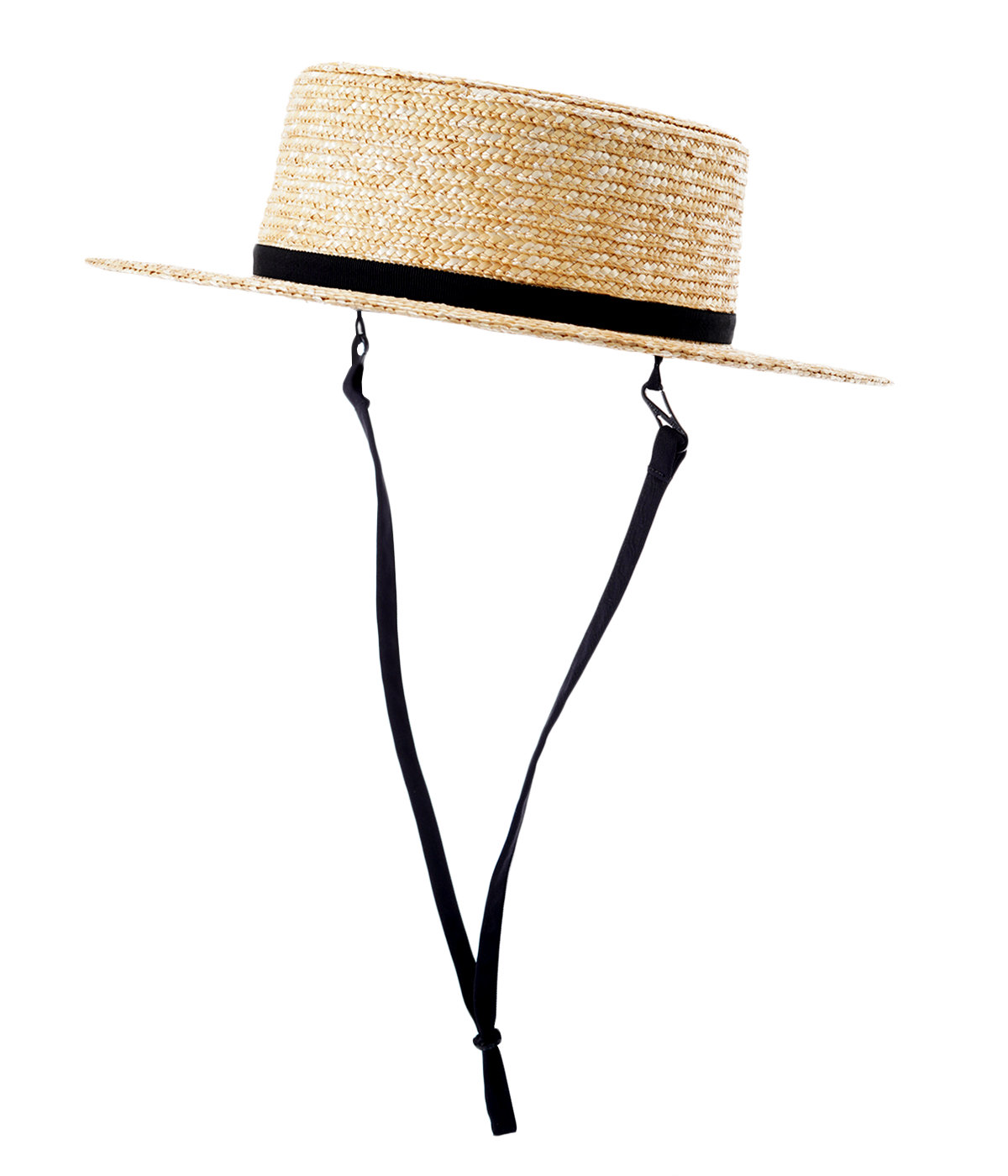【予約】10㎜ WHEAT BRAID BOATER HAT