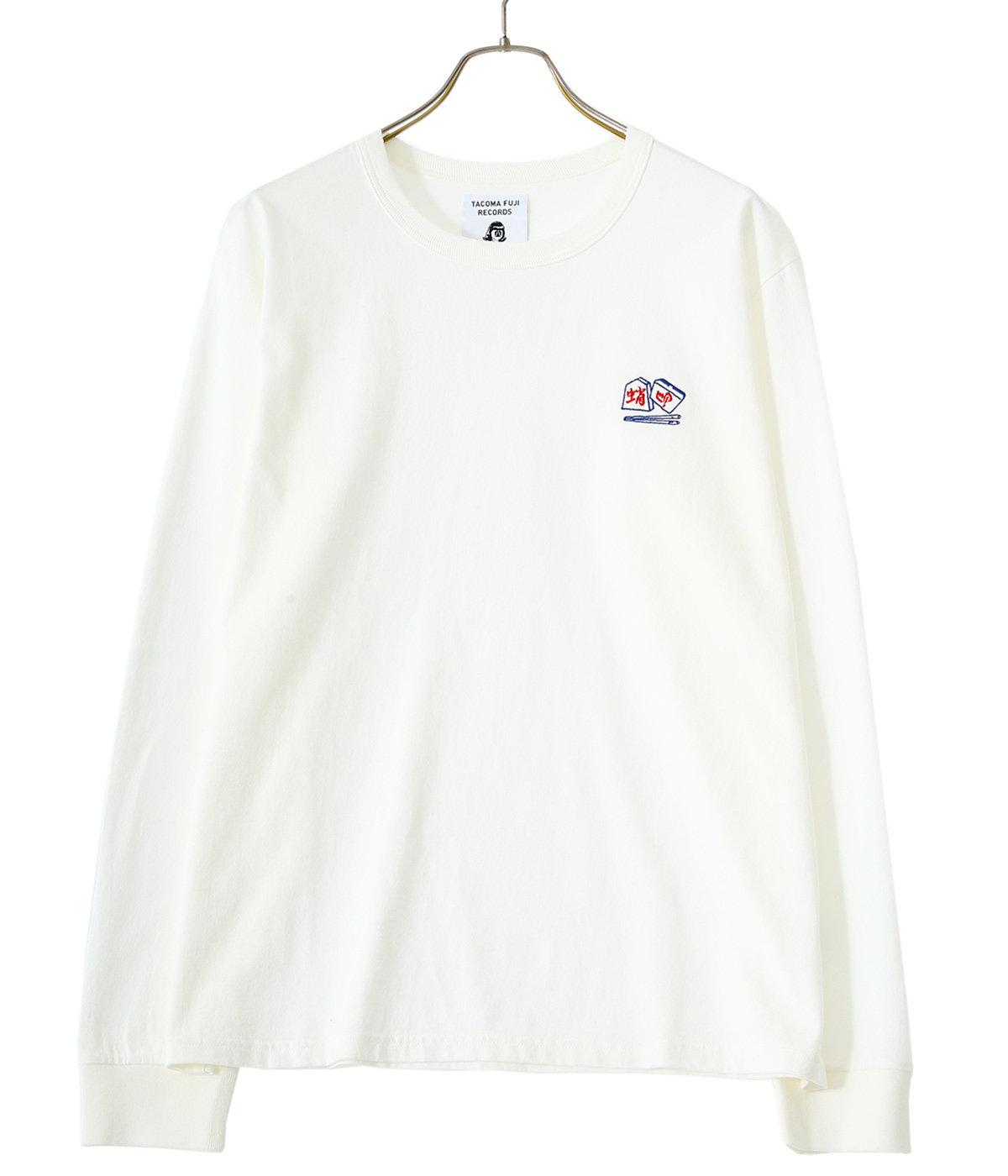 CHOPSTICKS CRISIS embroidery shirt