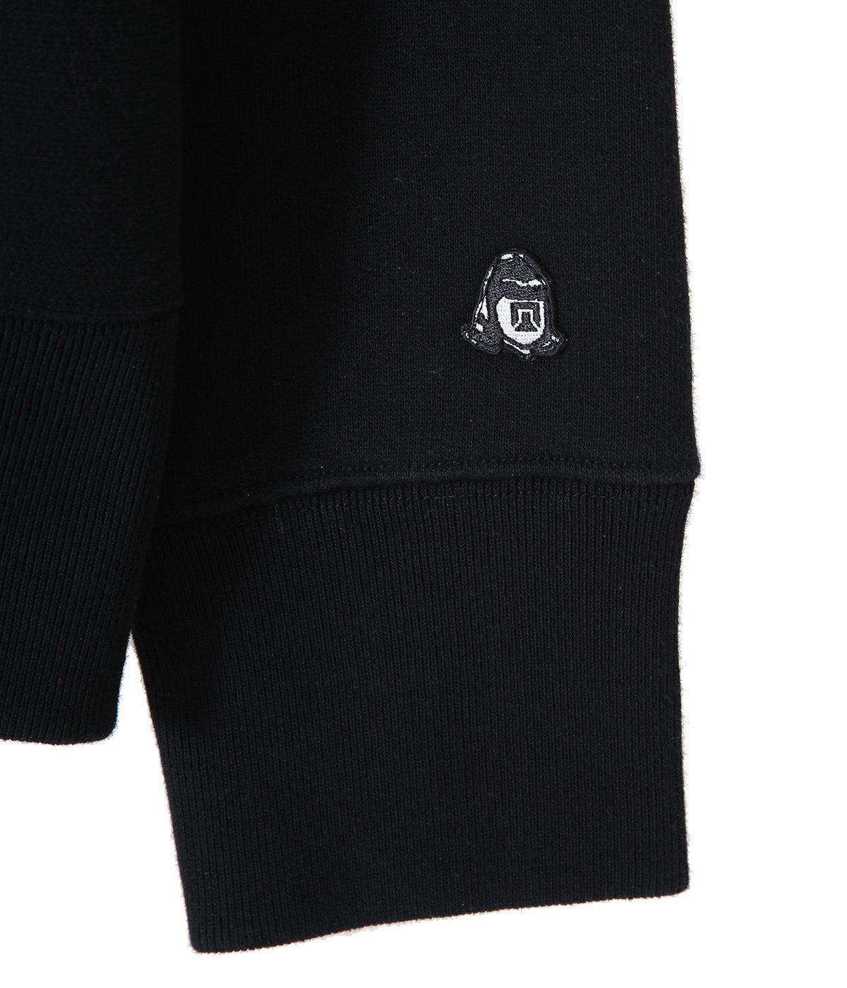 HANDWRITING embroidery HOODIE