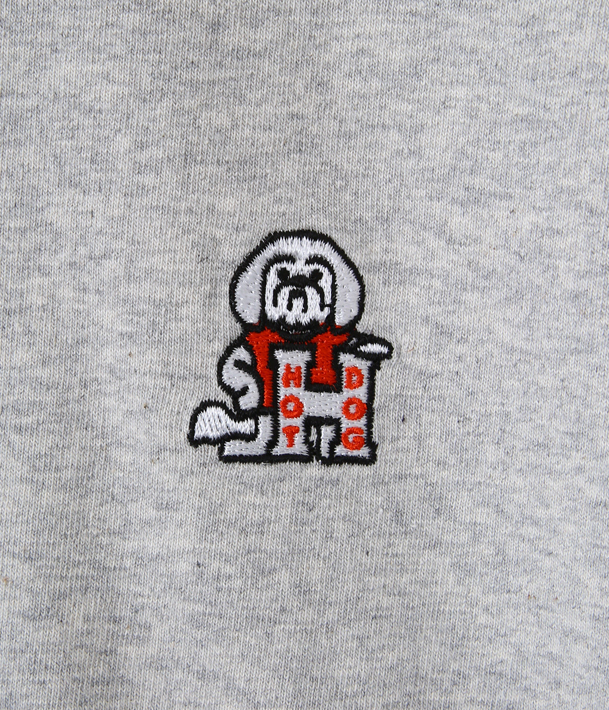 HOT DOG embroidery shirt