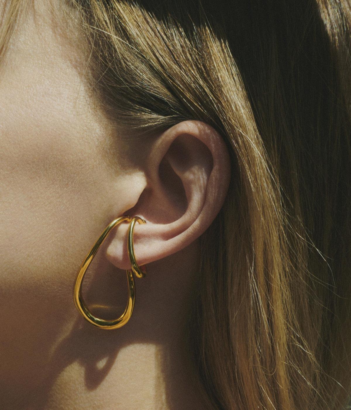 Drop Cuff Earring