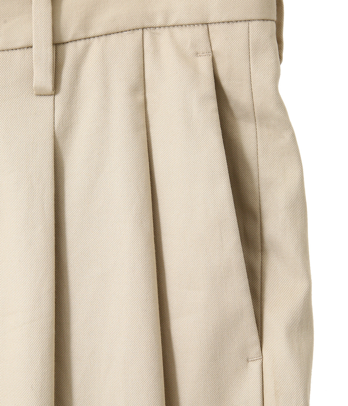 2 TUCK WIDE PANTS -ARKnets exclusive-