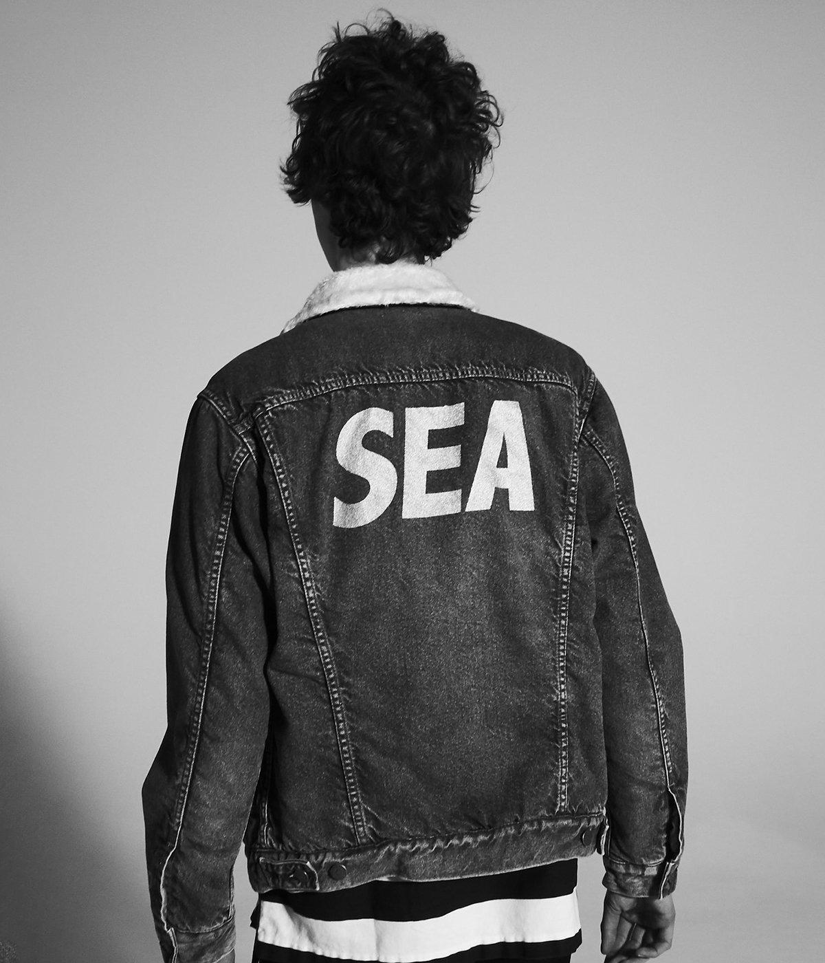 WIND AND SEA ×MINEDENIM Denim Boa GJKT