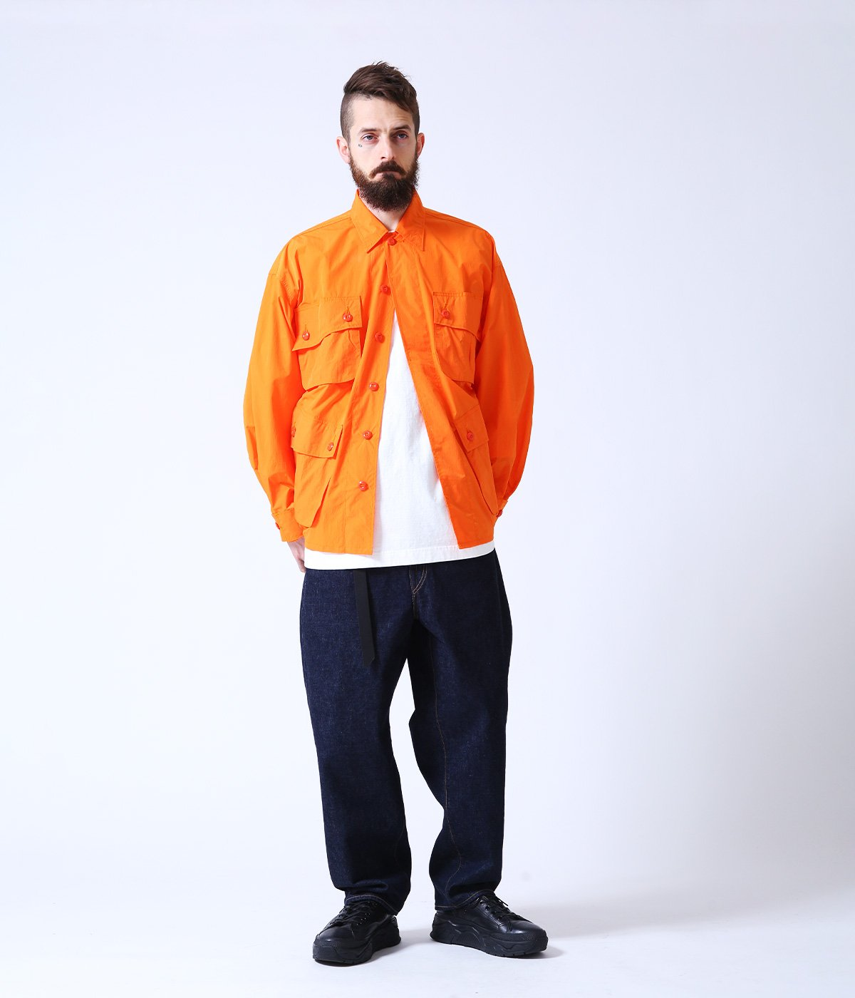 NYLON WEATHER JUNGLE FATIGUE JACKET