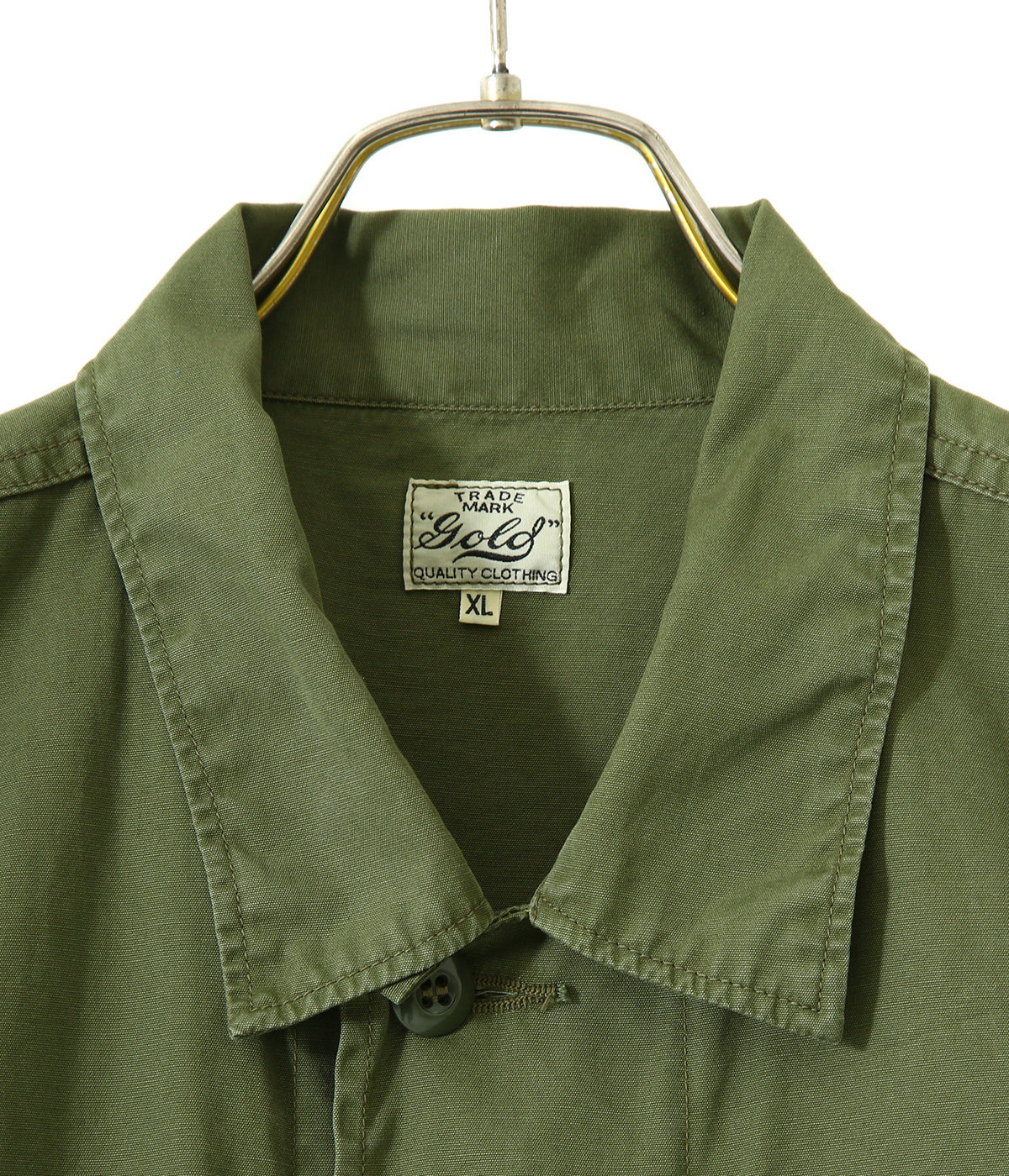 COTTON WEATHER MILITARY JACKET