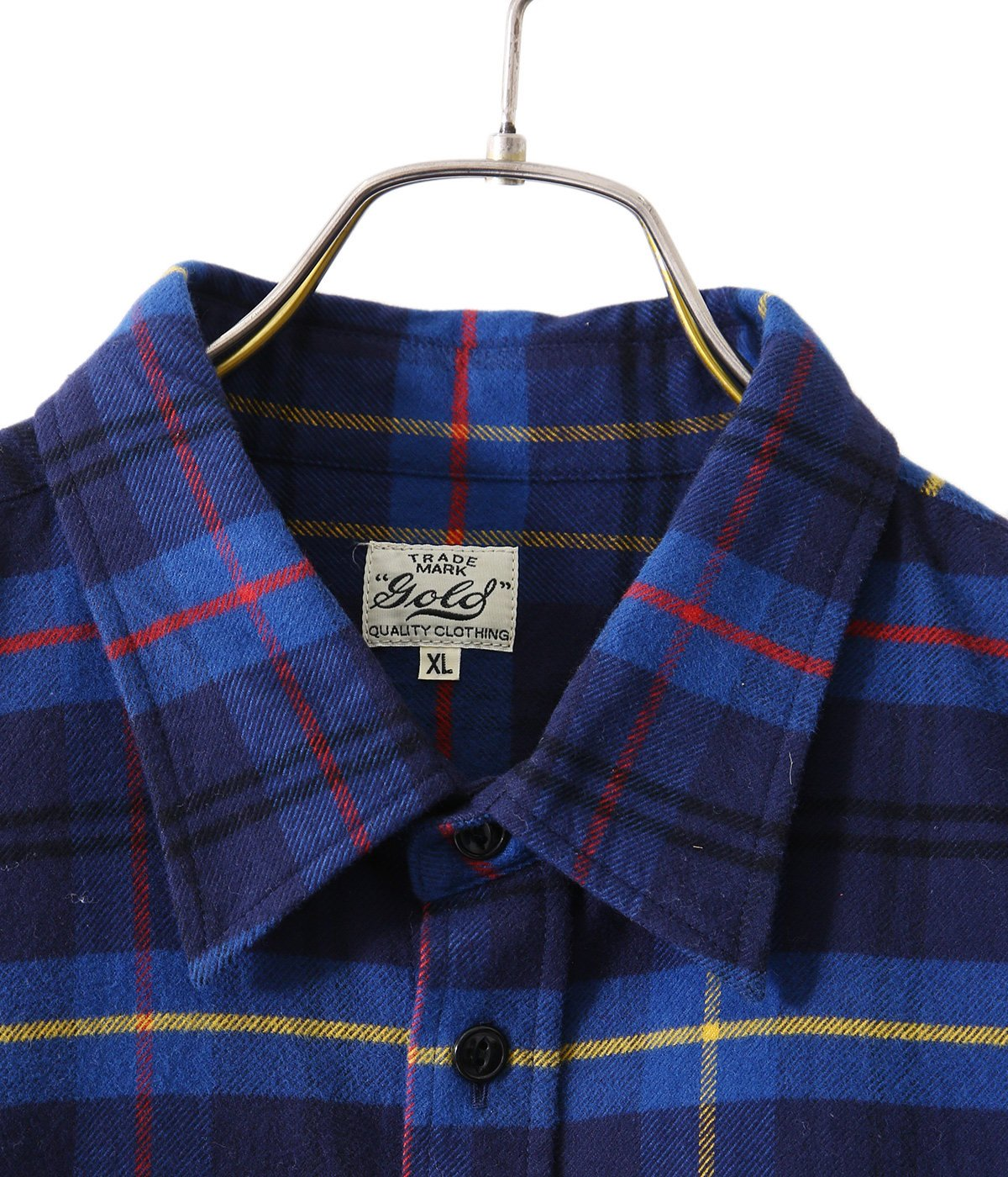 【予約】HEAVY NEL CHECK BALLOON SHIRT