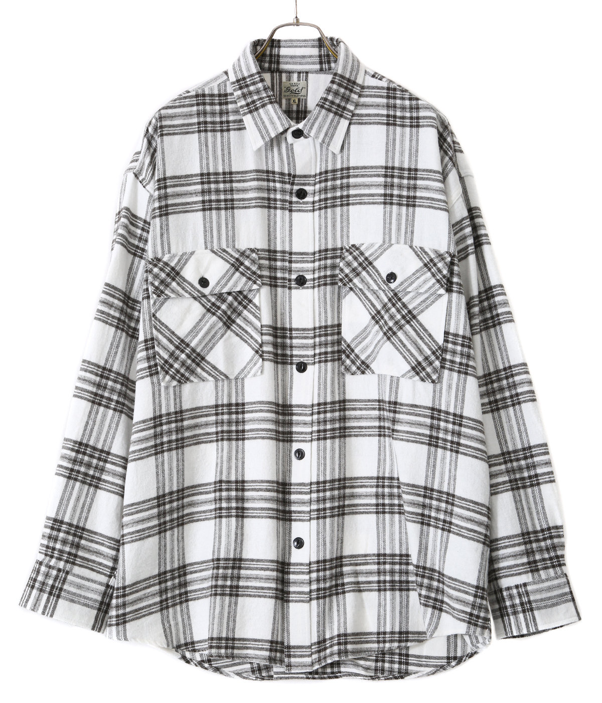 【予約】SOFT NEL CHECK BIG POCKET WORK SHIRT