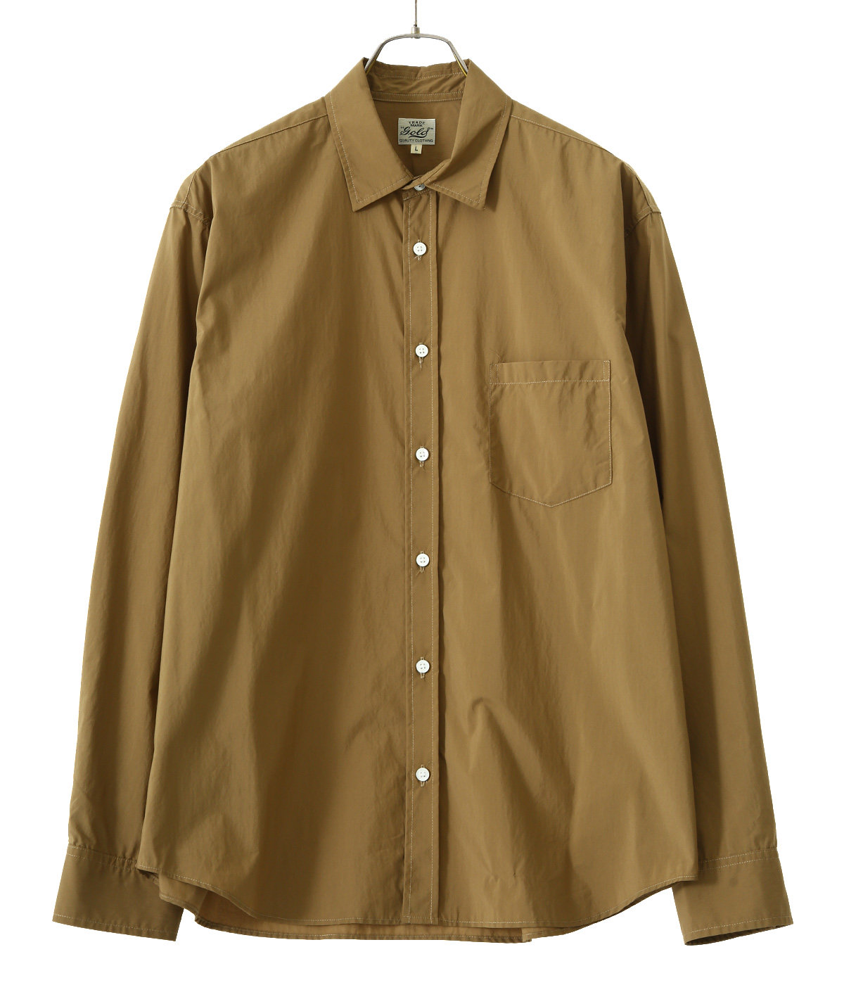 【予約】COTTON / NYLON WEATHER SHIRT (REGULAR FIT)