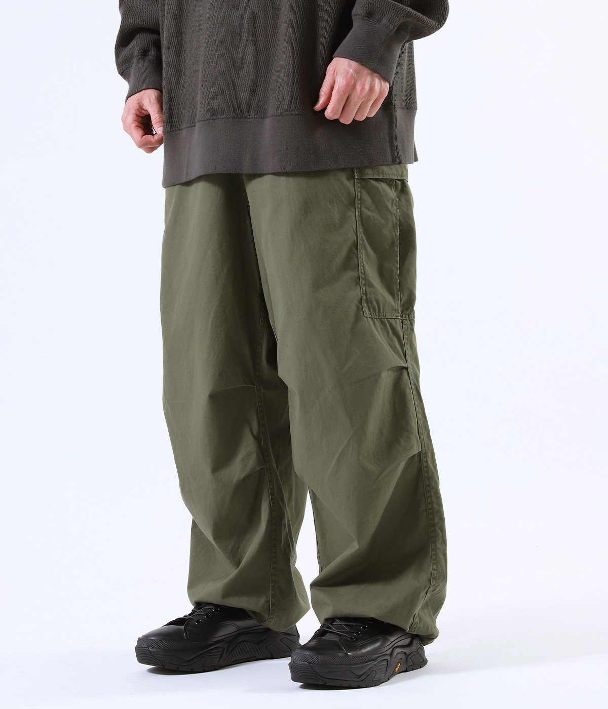COTTON WEATHER OVER CARGO PANTS
