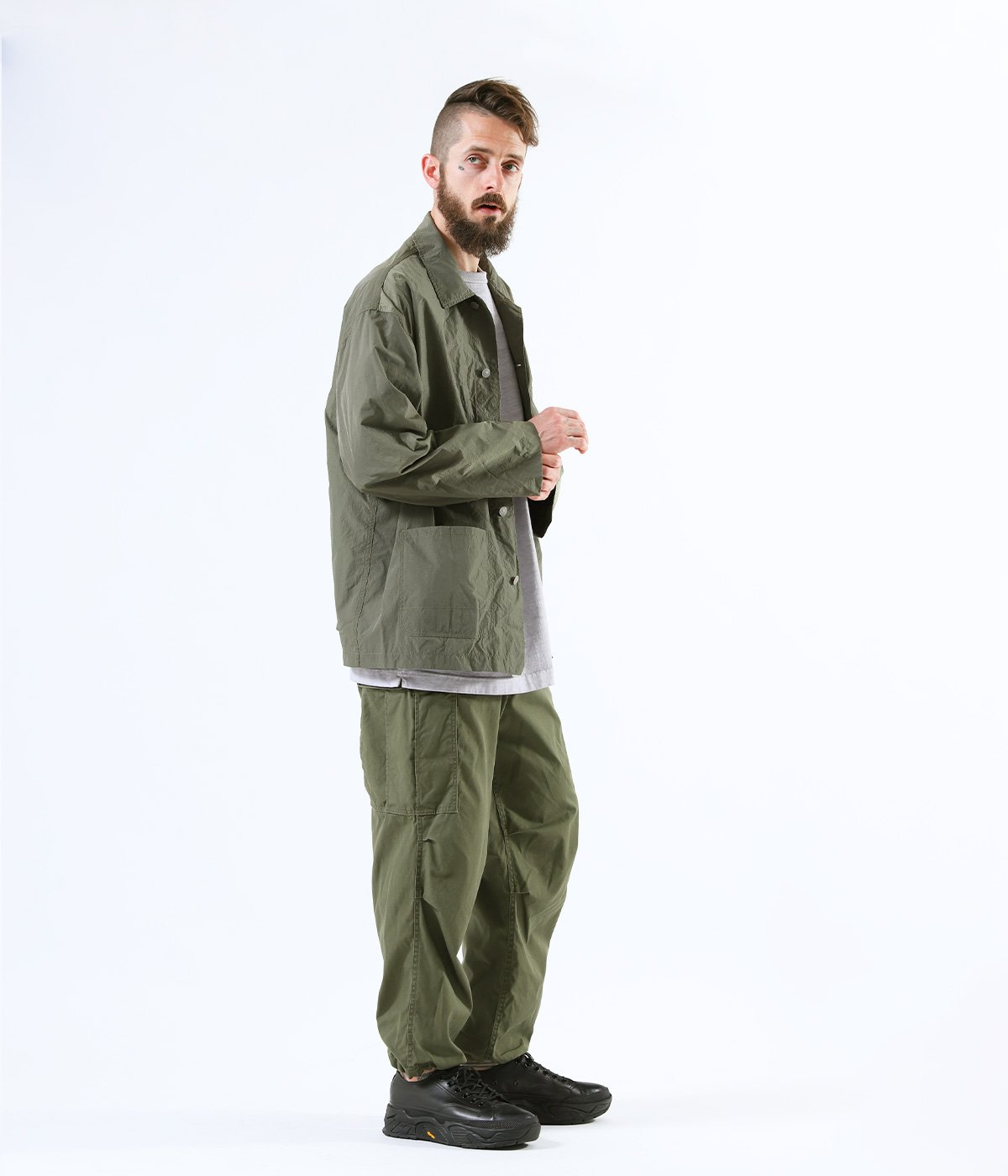 COTTON WEATHER CARGO PANTS