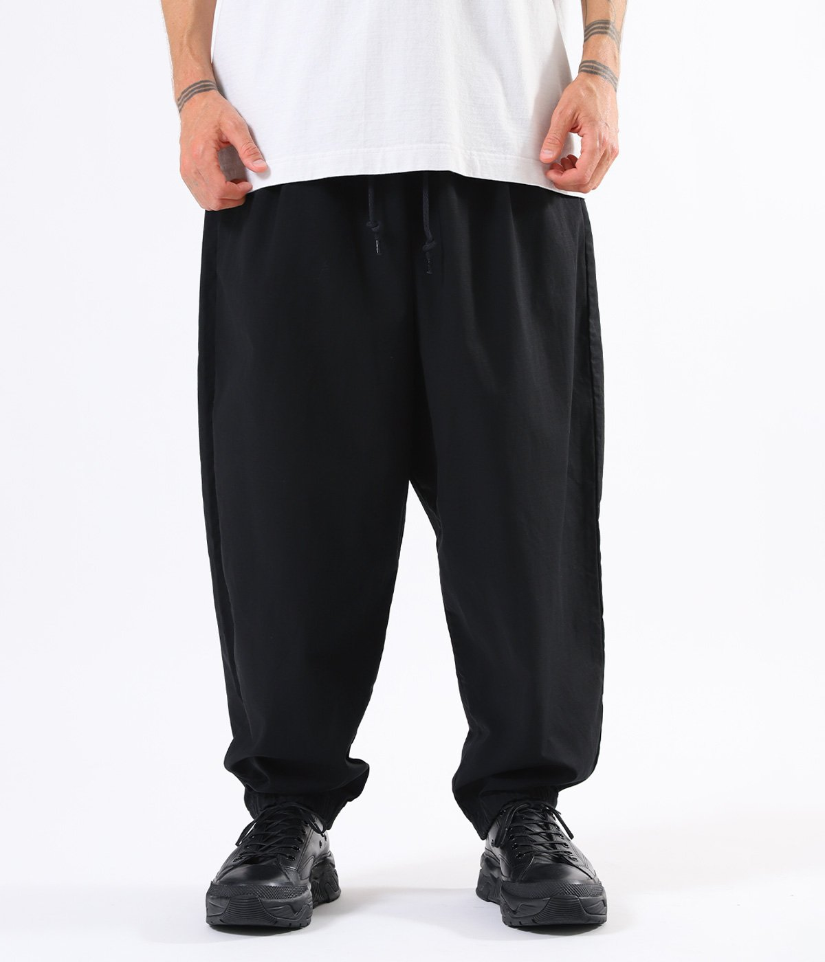 【予約】COTTON / NYLON RIPSTOP OVER PANTS
