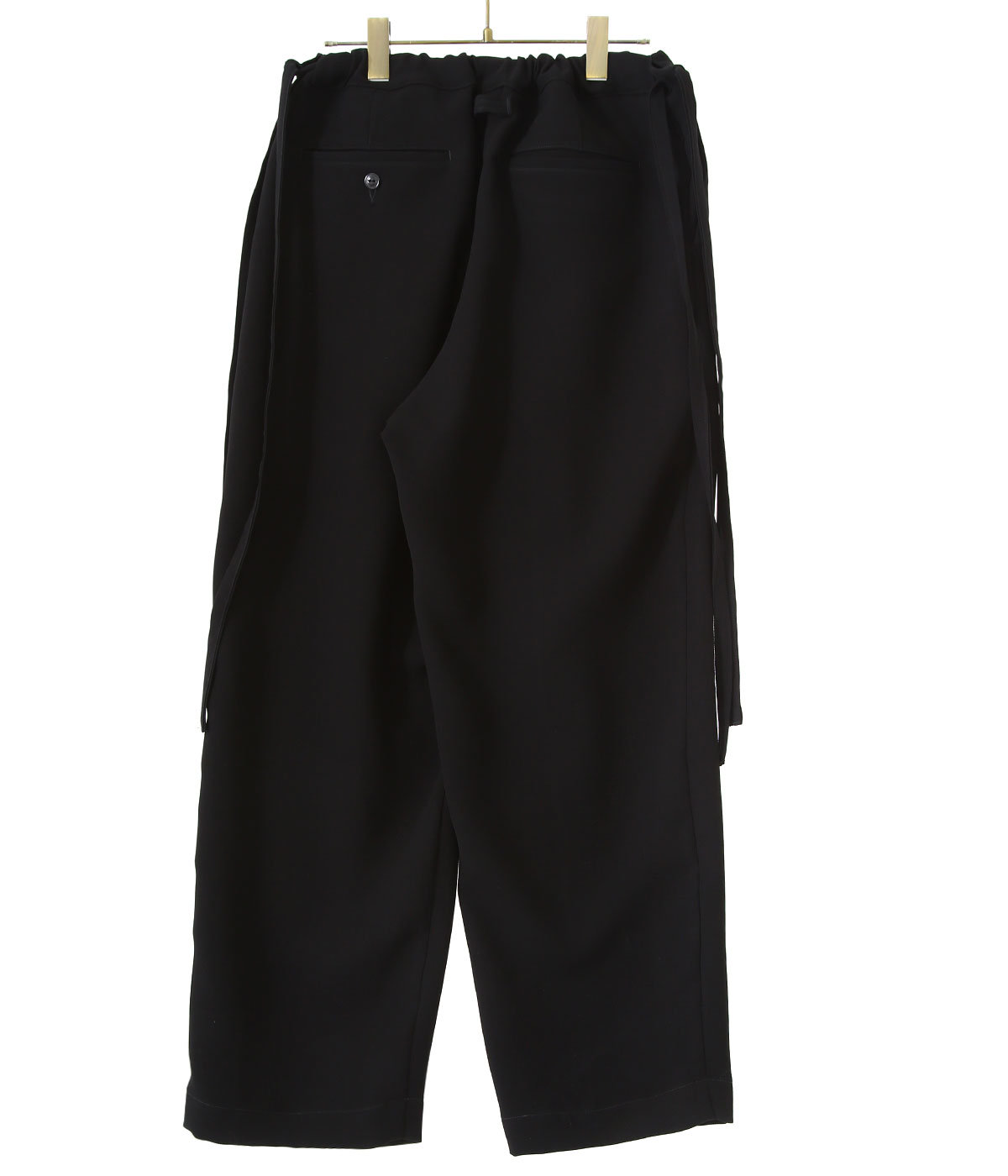 【予約】STRETCH DOUBLE CLOTH STRINGS PANTS
